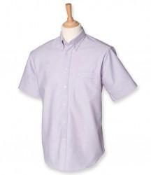 Image 5 of Henbury Short Sleeve Classic Oxford Shirt