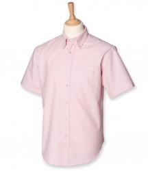 Image 6 of Henbury Short Sleeve Classic Oxford Shirt
