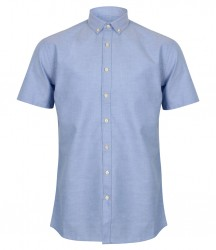 Henbury Modern Short Sleeve Regular Fit Oxford Shirt image