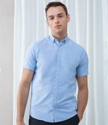 Image 1 of Henbury Modern Short Sleeve Slim Fit Oxford Shirt