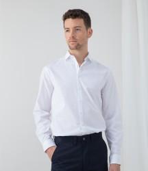 Image 1 of Henbury Long Sleeve Stretch Poplin Shirt