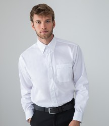 Henbury Long Sleeve Pinpoint Oxford Shirt image