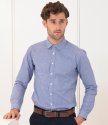 Henbury Gingham Long Sleeve Shirt image