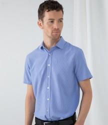 Henbury Gingham Short Sleeve Shirt image
