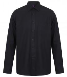 Image 5 of Henbury Long Sleeve Wicking Shirt