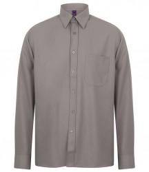 Image 8 of Henbury Long Sleeve Wicking Shirt