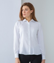 Henbury Ladies Long Sleeve Wicking Shirt image