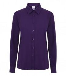 Image 6 of Henbury Ladies Long Sleeve Wicking Shirt