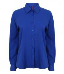 Image 7 of Henbury Ladies Long Sleeve Wicking Shirt