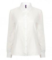 Image 9 of Henbury Ladies Long Sleeve Wicking Shirt