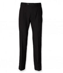 Henbury Single Pleat Polyester Trousers image