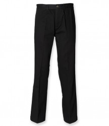 Henbury Flat Fronted Chino Trousers image