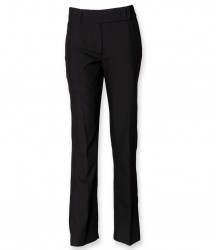 Henbury Ladies Flat Front Bootleg Trousers image