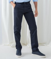 Henbury 65/35 Flat Fronted Chino Trousers image