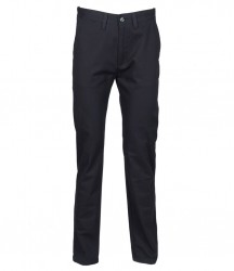 Image 3 of Henbury 65/35 Flat Fronted Chino Trousers