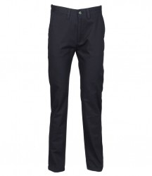 Image 3 of Henbury Ladies 65/35 Flat Fronted Chino Trousers
