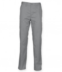Image 4 of Henbury Ladies 65/35 Flat Fronted Chino Trousers