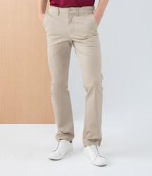 Henbury Stretch Flex Waistband Chino Trousers image
