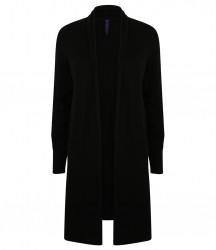 Image 2 of Henbury Ladies Longline Open Cardigan