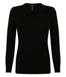 Henbury Ladies Crew Neck Sweater image