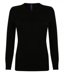 Image 2 of Henbury Ladies Crew Neck Sweater