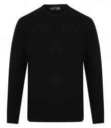 Henbury Lambswool Crew Neck Sweater image