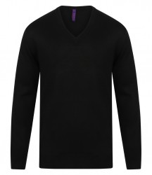 Henbury Acrylic V Neck Sweater image