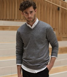 Henbury Marl V Neck Sweater image