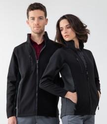 Henbury Unisex Contrast Soft Shell Jacket image