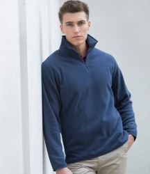 Henbury Zip Neck Inner Micro Fleece image