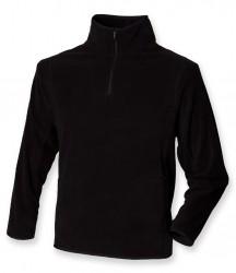 Henbury Zip Neck Inner Micro Fleece image