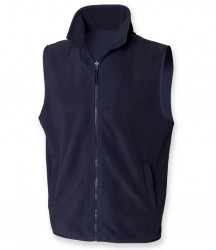 Image 2 of Henbury Sleeveless Micro Fleece Jacket
