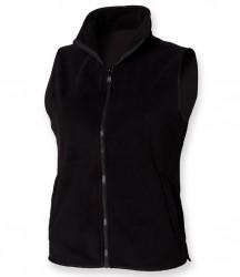 Henbury Ladies Sleeveless Micro Fleece Jacket image