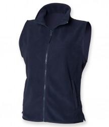 Image 3 of Henbury Ladies Sleeveless Micro Fleece Jacket