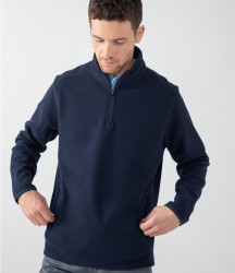 Henbury Zip Neck Micro Fleece image