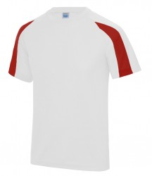 Image 21 of AWDis Cool Contrast Wicking T-Shirt