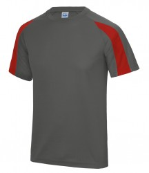 Image 3 of AWDis Cool Contrast Wicking T-Shirt