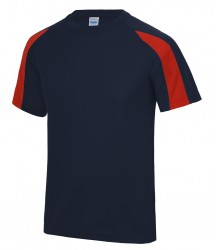 Image 8 of AWDis Cool Contrast Wicking T-Shirt