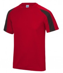 Image 10 of AWDis Cool Contrast Wicking T-Shirt