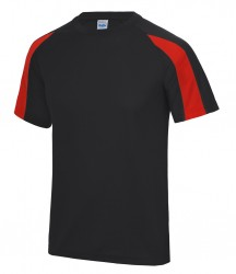 Image 13 of AWDis Cool Contrast Wicking T-Shirt