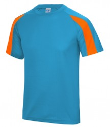 Image 20 of AWDis Cool Contrast Wicking T-Shirt