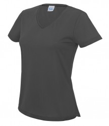 Image 3 of AWDis Cool Girlie V Neck Wicking T-Shirt