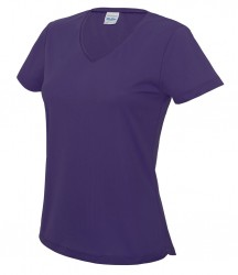 Image 11 of AWDis Cool Girlie V Neck Wicking T-Shirt