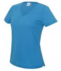 Image 9 of AWDis Cool Girlie V Neck Wicking T-Shirt