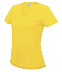 Image 12 of AWDis Cool Girlie V Neck Wicking T-Shirt