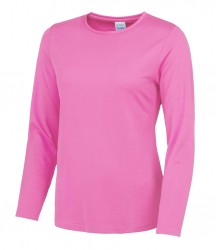 Image 3 of AWDis Cool Girlie Long Sleeve T-Shirt