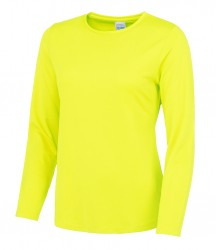 Image 4 of AWDis Just Cool Girlie Long Sleeve T-Shirt