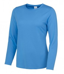 Image 7 of AWDis Just Cool Girlie Long Sleeve T-Shirt