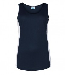 Image 3 of AWDis Cool Girlie Contrast Vest