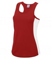 Image 4 of AWDis Cool Girlie Contrast Vest